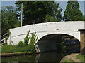 TQ0581 : Grand Union Canal bridge 189 - Benbow Waye by David Hawgood