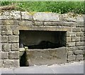 SE0226 : Cattle Trough - Midgley Road, Mytholmroyd by Betty Longbottom