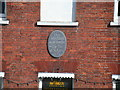 Photo of John Keats black plaque