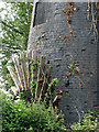 TG4209 : Tunstall Dyke tower mill - the scoop wheel by Evelyn Simak