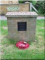 A very plain memorial to R.A.F. Methwold Norfolk.
