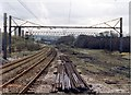 SJ9694 : Godley Junction marshalling yard by Peter Whatley