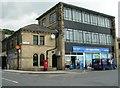 SE0338 : Oakworth Post Office & Co-op - Victoria Street by Betty Longbottom