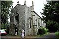 SP5829 : Holy Trinity RC church, Hethe by Julian Dowse
