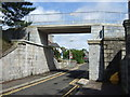 NJ9304 : Heightened bridge over Hardgate by Stanley Howe