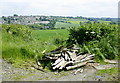 ST7164 : 2008 : Fly tipping near Newton St. Loe by Maurice Pullin