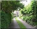 SE0942 : Back Lane - Main Road, East Morton by Betty Longbottom