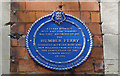 Photo of Humber Ferry blue plaque