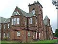 NS2575 : Ravenscraig Hospital by Thomas Nugent