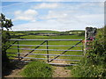 SW7330 : View towards Great Carvedras Farm by Rod Allday