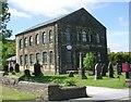SE0634 : Denholme Edge Church - Keighley Road by Betty Longbottom