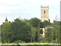 TQ3774 : St Mary's church from the south-west by Stephen Craven