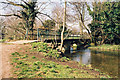 TQ4872 : Footbridge over River Cray, North Cray, Kent by Dr Neil Clifton