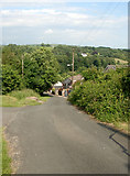 SS8885 : Steep road in Coytrahen by eswales