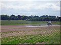SE8922 : Crop Spraying near Alkborough by David Wright
