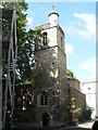 TQ3181 : City parish churches: St. Bartholomew the Less by Chris Downer
