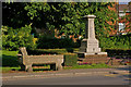 TQ4159 : Drinking trough and War Memorial by Ian Capper