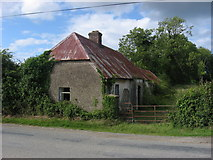 O1861 : Cottage at Folkstown Little, Co. Dublin by Kieran Campbell
