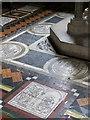 ST7747 : Floor tiles, St John the Baptist Church, Frome : Week 26