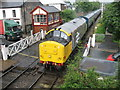 SD7916 : Ramsbottom Level Crossing by Paul Anderson