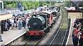 SD7916 : War Weekend at Ramsbottom Station 2008 by Paul Anderson