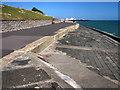SZ6497 : Seawall near Southsea Castle by Chris Gunns