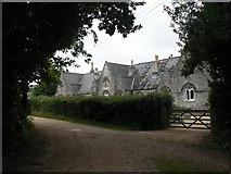 SZ0794 : Talbot Village: almshouses by Chris Downer