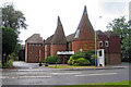 TQ5847 : Oast House at the Tonbridge Oast Theatre, London Road, Tonbridge, Kent by Oast House Archive