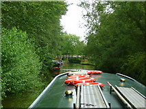 SU3468 : Kennet and Avon Canal east of Hungerford 14 by Jonathan Billinger