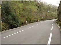 SE0022 : Blackstone Edge Road, Cragg Vale. Milestone by Andrew Riley