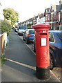 SZ1092 : Boscombe: postbox № BH1 110, Walpole Road by Chris Downer