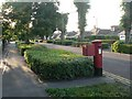 SZ1193 : Littledown: postbox № BH7 307, Harewood Avenue by Chris Downer