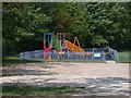TL3653 : Children's play area at Eversden Recreation Ground by Keith Edkins