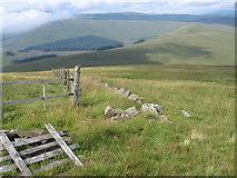 NS6504 : Blacklorg Hill towards Afton Reservoir by Chris Wimbush