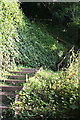 SX4952 : Steps on the Coast Path by Tony Atkin