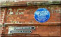 Photo of Charles McKimm blue plaque
