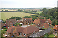 SP8019 : Hardwick from the church tower. by John Firth
