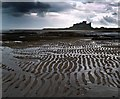 NU1835 : Bamburgh Castle by Steve  Fareham