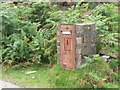 NM4884 : Isle of Eigg: redundant postbox by Chris Downer