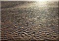 SX8960 : Ripples on Paignton Sands by Derek Harper