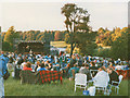 SE2860 : Open-air concert in the grounds of  Ripley Castle by Stephen Craven