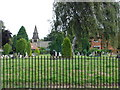 SK5344 : Northern Cemetery, Nottingham by Oxymoron
