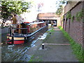 SO8554 : Narrowboat on the Worcester and Birmingham Canal by Philip Halling