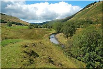 NX3595 : The River Stinchar by Mary and Angus Hogg