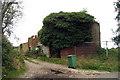 TQ8260 : Derelict Oast House at Beaux Aires Farm, Bimbury Lane, Stockbury, Kent by Oast House Archive