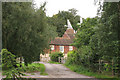 TQ8364 : The Oast, Place Farm, Place Lane, Hartlip, Kent by Oast House Archive
