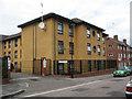 TQ3073 : Social housing, Lyham Road by Stephen Craven