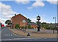 SJ6097 : Peter Kane Square, Golborne by Dave Green