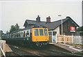 SJ7781 : Train leaving Mobberley station by Stephen Craven