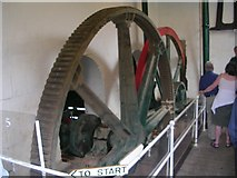 ST7964 : Gear Wheels for Pump - Claverton Pumping Station by Betty Longbottom
